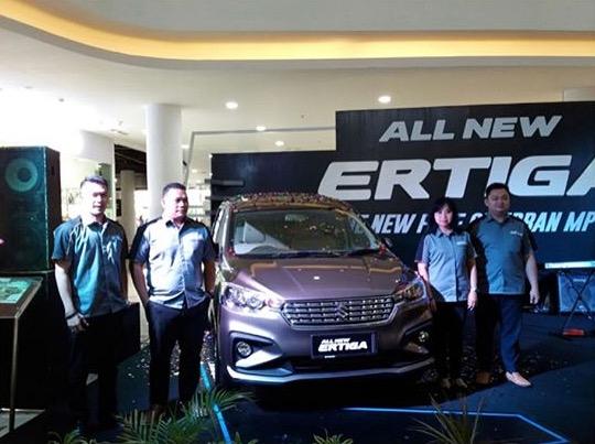 Grand Launching Suzuki All New Ertiga di Tanjungpinang.