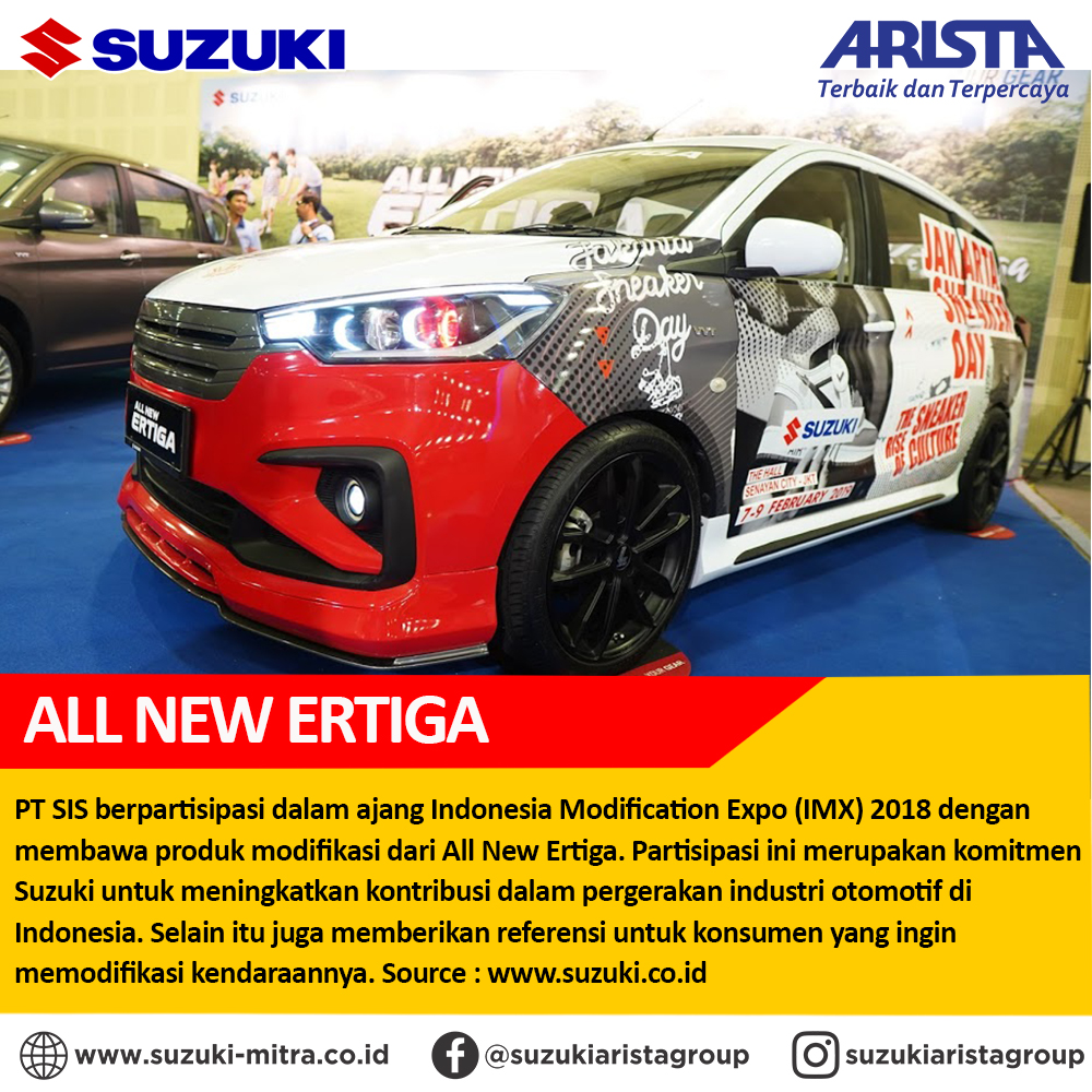 All New Ertiga Modifikasi Jadi Perhatian di Indonesia Modification Expo 2018