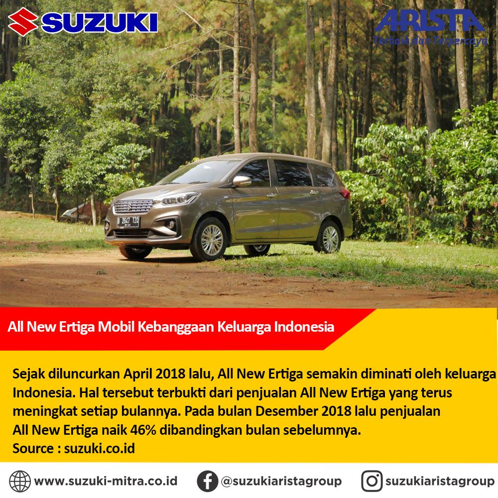 All New Ertiga Mobil Kebanggaan Keluarga Indonesia